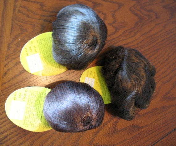 3 Doll Wigs - Various Styles  and Colors - Kemper -  Size 7-8