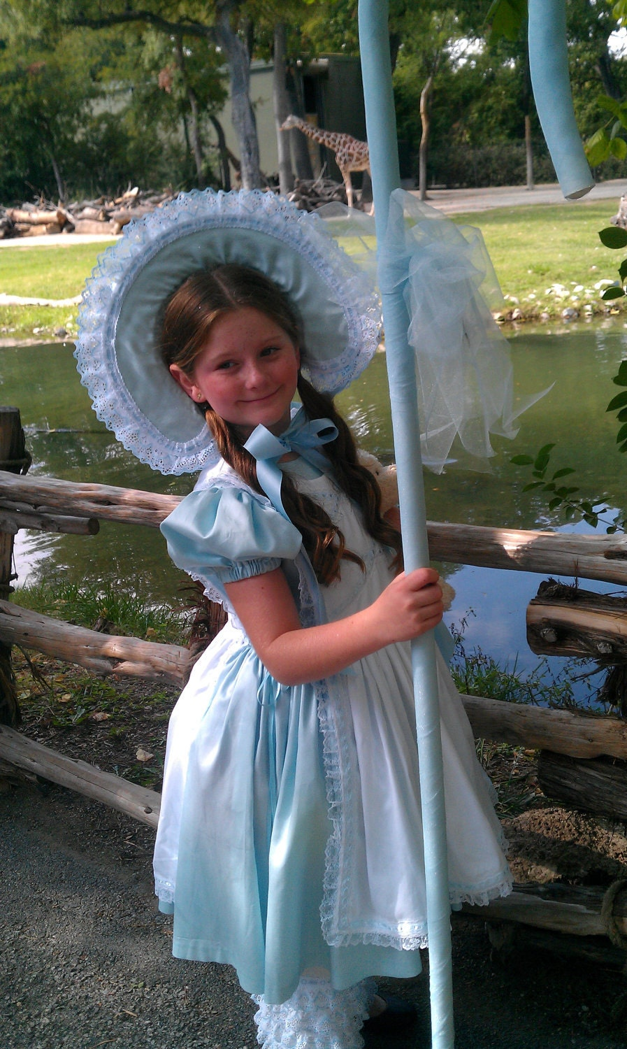 Little Bo Peep Costume 4 pieces Handmade Made to Order Long