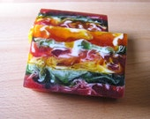 Psychedelic Citrus Medley Swirl Soap