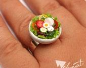 Fresh & Crunchy Salad Ring