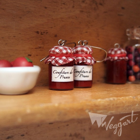 Plum Jam Miniatures Earrings