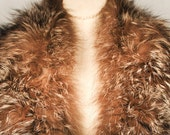 RESERVED STANTON JAMES Vintage 40s 50s Coyote Fur Stole Collar