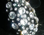 Amazing Vintage Style The Marilyn Glam Cocktail Ring with Fabulous Sparkle and Shine