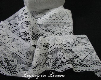6 Yards White Lace Trim