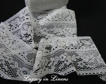 8 Yards White Lace Trim