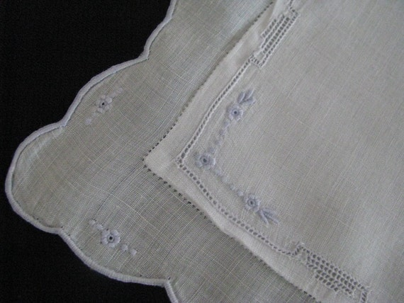 Vintage Baby Pillow Cover with Hand Embroidery