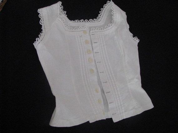Vintage Cotton Handmade Blouse Camisole