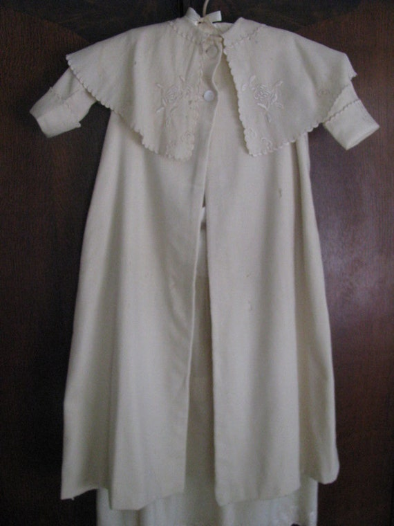 Antique Childs Coat and Skirt DAMAGED
