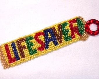 Life Savers Candy Sequin Beaded Applique 0002