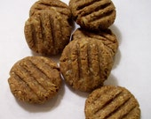 Peanut Butter and Oatmeal Cookie (wheat-free) Dog Treats