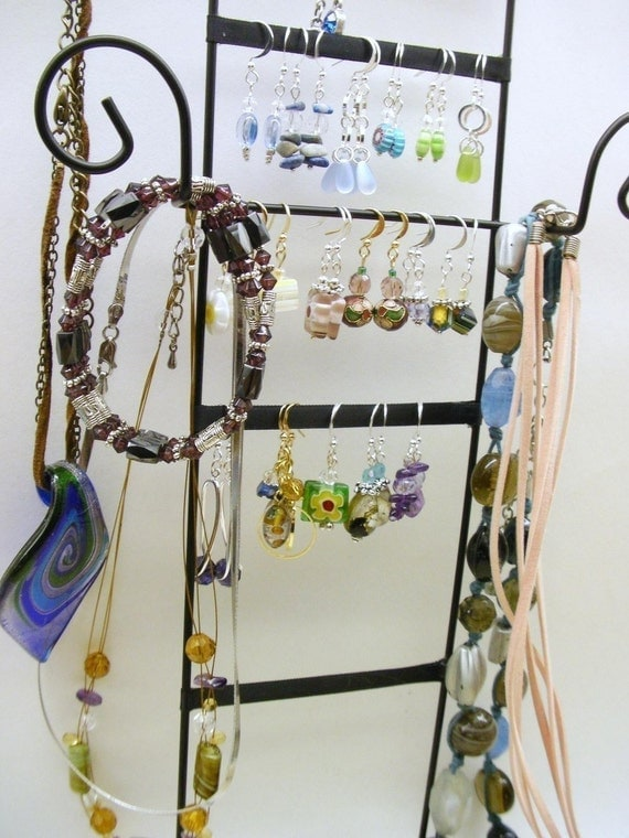 Jewelry Rack, Jewelry Rack Display, Jewelry Display Rack, Put everything on ME.... I mean EVERYTHING