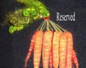 Reserved Carrots for Margaret