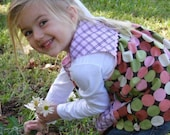 Custom Order- Polka Dot Smock Top for Lilly