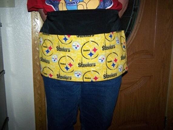 NFL Pittsburg Steelers  Half Apron Vendor Server Bartender