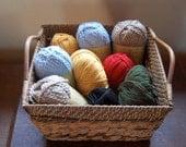 Natural Fiber Yarn Collection FREE SHIPPING Destash