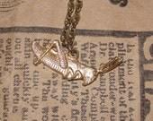 Gold color Cricket necklace