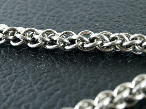 Titanium Jens Pind Linkage Chainmaille Anklet Large