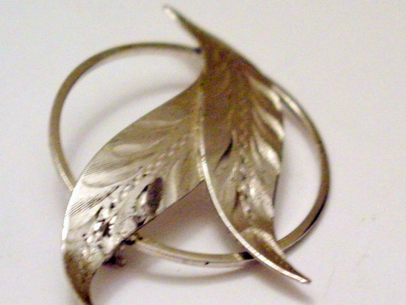 Sterling Silver Pin, Vintage Modern Designer Signed Bond Boyd Sterling Silver Brooch Pin Vintage Jewelry Jewellery