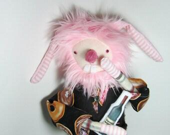 Pink Bunny softie doll boyfriend