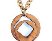 Eco-Friendly  Bamboo Necklace: Pi Optical-KSN111002