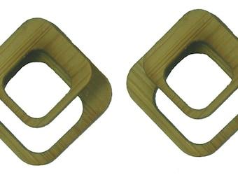L7 Optical Bamboo Studs KSE111003