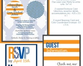 Wedding Invitation Suite- Moroccan Sail