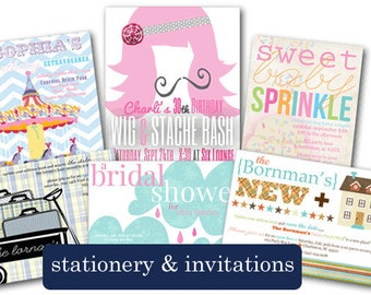 Printable Invite- Customer Choice from Shop
