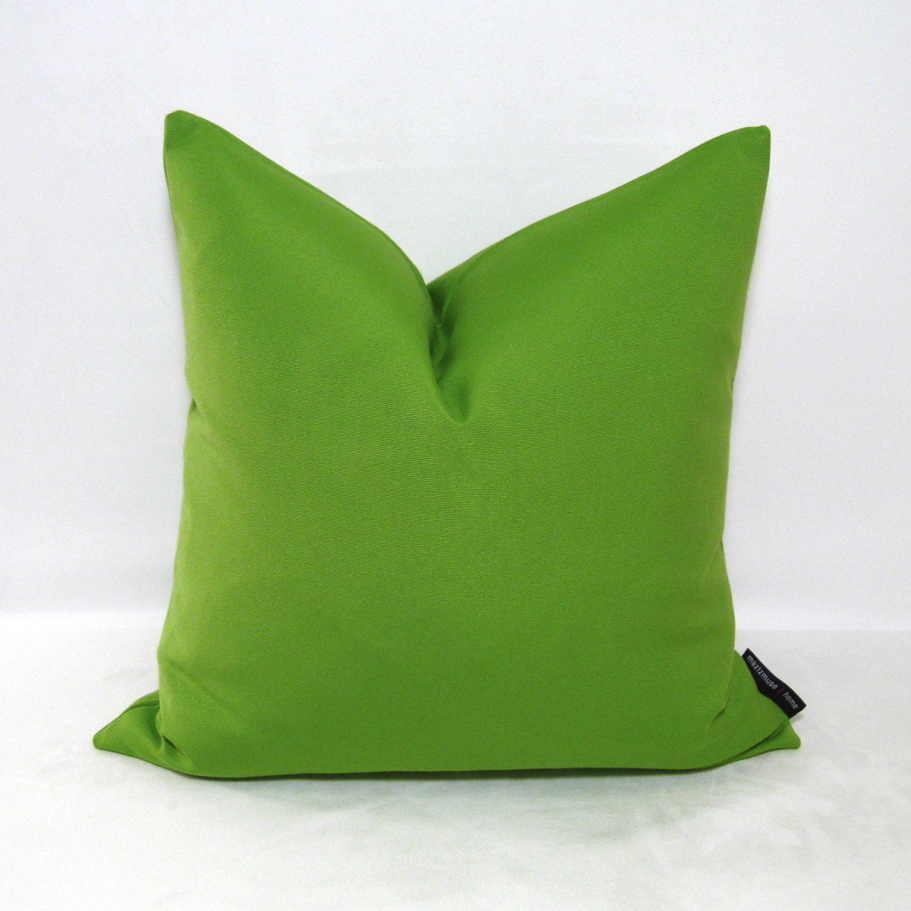 Decorative Pillows In Green : Green Pillow Cover Decorative Cushion Outdoor by Mazizmuse