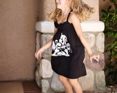 """The UPCycled T Shirt Dress """"Princess Peach and Mario"""" GEEKERY NO. 1 One Size Fits 2T - 6"""