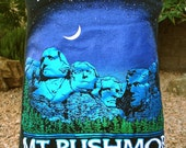 Mount Rushmore South Dakota t shirt UPCYCLED into the STYLE of YOUR Choice