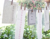 Mini Banner in Felt, Ink and Linen for the Modern Homespun Wedding and Everyday