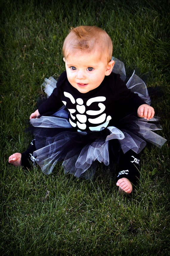 Baby halloween costume skeleton - Costume halloween bebe ...