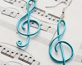Treble Clef Earrings