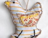 Little Hanging Striped Chick Decoration