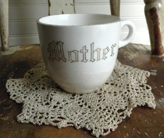 Vintage Tea Cup, Coffee Cup, Mug - Mother's Day Gift