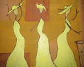 Three Ladies Dancing