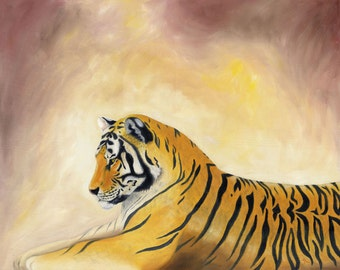 Tiger 5x7 PRINT or CARD