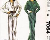 Vintage Carole Little Designer Pattern McCall's 7064