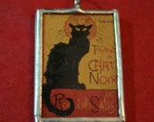 Tournee Du Chat Noir Pendant  Black Cat