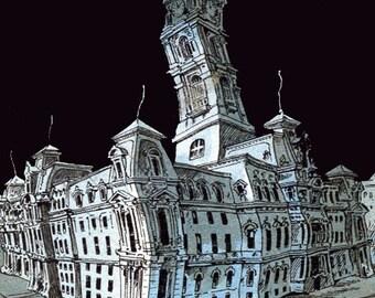 Print, Bellevue Stratford Hotel, Philly after Midnight