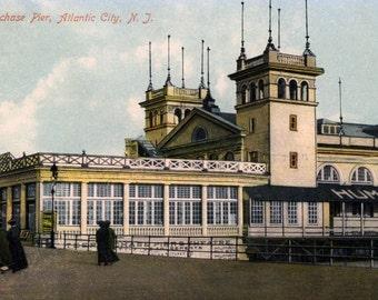 Package of 12 Blank Note Cards,  Atlantic City, NJ - 4 Views
