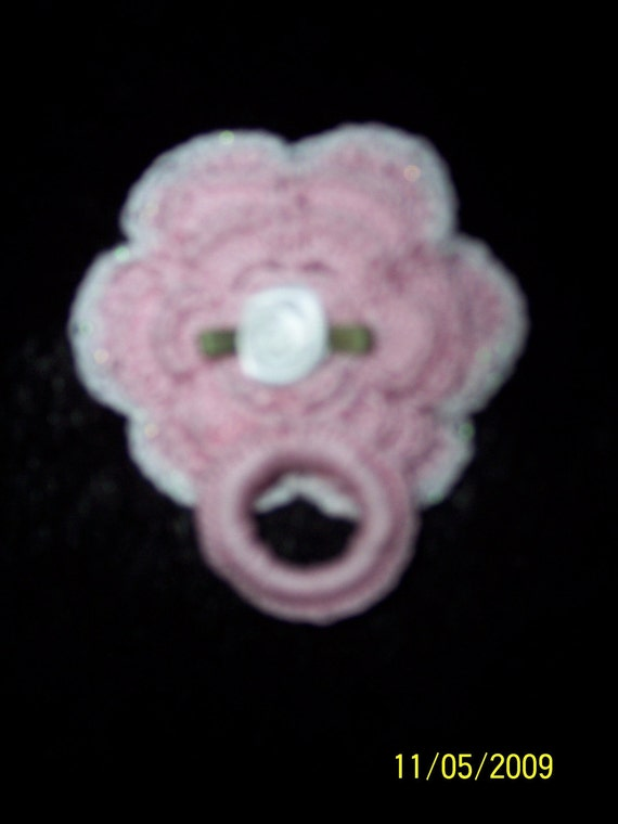 HANDMADE MAGNETIC PACIFIER FOR A REBORN BABY DOLL - DUMMY PACIFIER