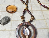 Mens Cowry Shell Necklace (My Kinda Guy Collection MN14)