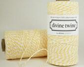 Lemon Yellow Divine Twine
