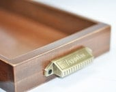 Vintage Library Drawer with Index Cards - Reproduction 7 Gypsies