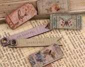 Wooden Tickets and Flags Fairy Belle - Prima
