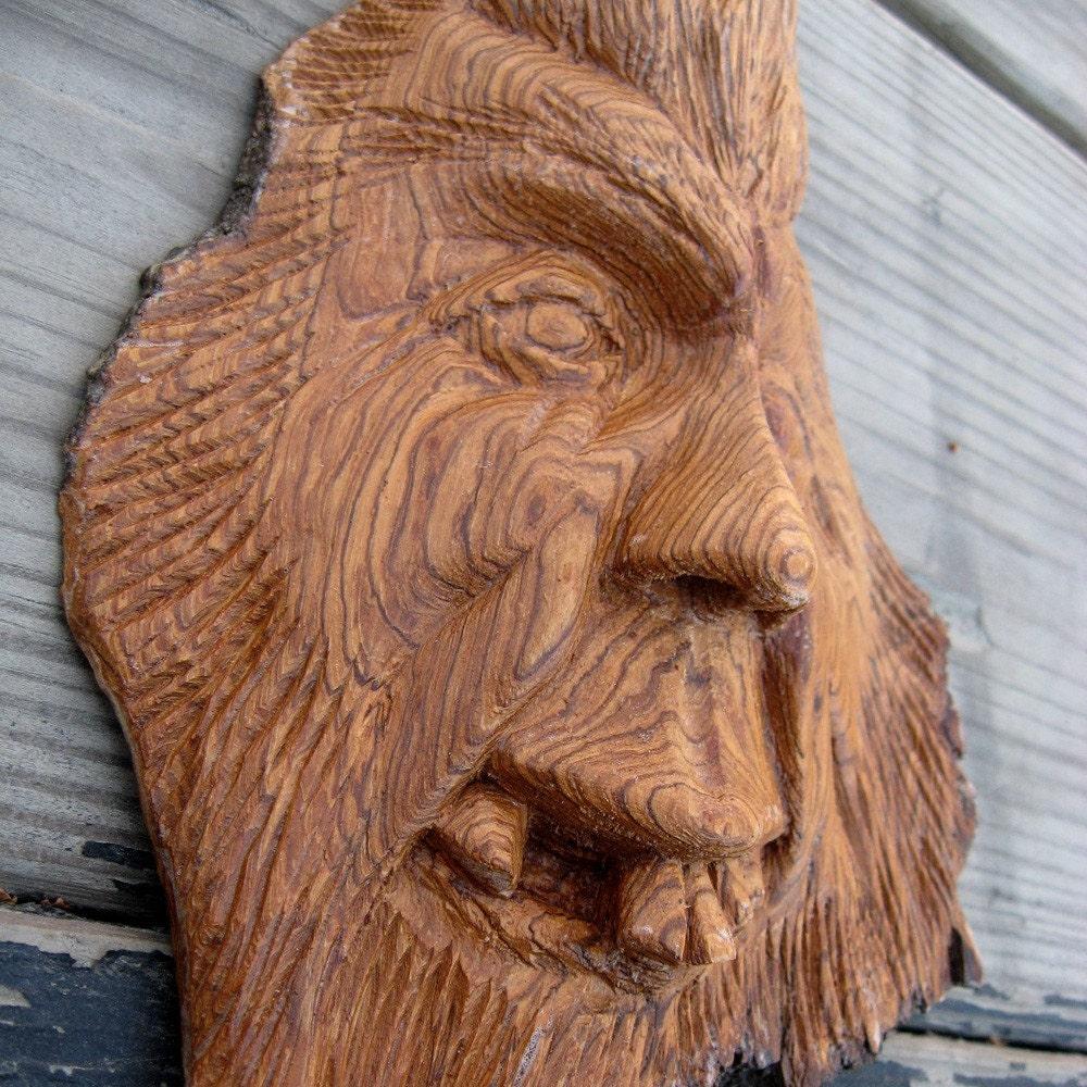 Elroy hand carved cottonwood bark wood spirit