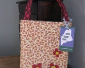 Fall flower tote by anabelfuzz