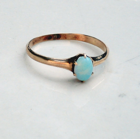 Victorian 10k Opal Ring