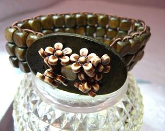Artistry In Motion-Flower Basket-Bracelet